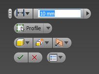 Mini-toolbar