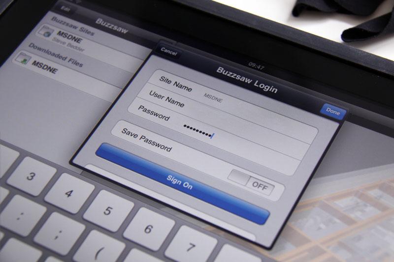 Autodesk Streamline & Buzzsaw on iPad\iPhone - Autodesk